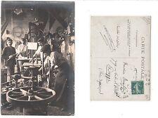 France paris, professions wagner ou vice faiseurs, ouvriers, Handcraft worker rppc 1907