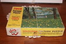 VINTAGE.....TUCO  INTERLOCKING  PICTURE  PUZZLE  REGENTS PARK, ENGLAND......USA