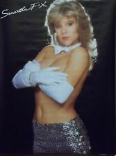 Samantha Fox 21x28 Gloves & Sequin Poster 1988