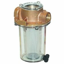 1 1/2 in. Groco Intake Strainer with Filter Basket