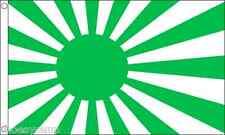 Japón Sol Naciente (Verde) 1,5 m x 0,9 m (90cm x 150cm) Bandera