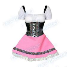 Womens Oktoberfest Fancy Dress Beer Maid Heidi German Ladies Costume