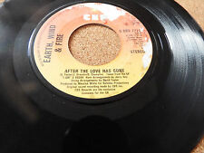 """EARTH, WIND & FIRE 'AFTER THE LOVE HAS GONE' UK 7"""" SINGLE"""