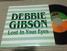 "DEBBIE GIBSON SPANISH 7"" SINGLE SPAIN SAME SIDED - LOST IN YOUR EYES"