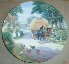 Royal Doulton Limited Edition Collectors Plate BRINGING HOME THE HAY