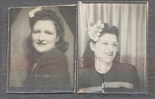 Vintage Photos Woman in Photobooth 682486