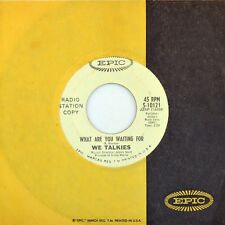 "7"" WE TALKIES I've Got To Hold On PEDDLERS / What Are You Waiting For EPIC 1966"