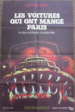 THE CARS THAT ATE PARIS (1974) Original French Movie Poster Peter Weir FJ Holden