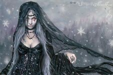 VICTORIA FRANCES WINTER GOTH POSTER (61x91cm)  NEW WALL ART