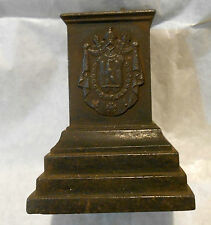 Pedestal with Royal Coat of Arms of Napoleon and Legion d'Honneur