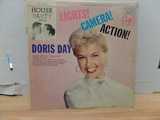 "Doris Day lights! Camera! Action! Columbia CL-2518 10""33rpm  011317DBE2"