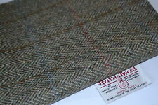 HARRIS TWEED FABRIC LABELS 100% wool tartan herringbone craft patchwork sewing 2