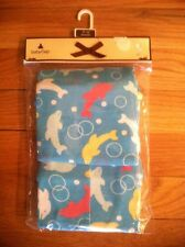 BABY GAP GIRLS AQUA DOLPHIN SHORT SUMMER PAJAMA SLEEP SET ORG. 22.00 SZ 2 BNWT