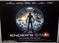 Cinema Poster: ENDER'S GAME 2013 (Advance Quad) Harrison Ford Asa Butterfield