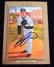 CHIEN-MING WANG 2007 TOPPS TURKEY RED Autographed Signed AUTO Baseball Card 68