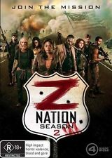 Z NATION-Season 2-Region 4-New AND Sealed-4 Discs Set-TV Series