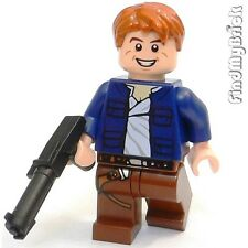 SW517 vII Lego Custom Male Smuggler Minifigure & Custom Swtor Blaster NEW