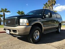 Ford: Excursion  7.3 EDDIE BAUER EXCURSION 4x4 POWERSTROKE DIESEL