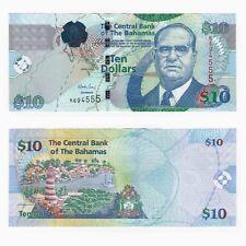 BAHAMAS - $10 Dollar Banknote - P.73A - UNC.