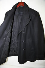 #5 Hugo Boss Black Label 'Double Breasted Wool Blend Peacoat Size 40 R