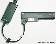 External Laptop Battery Charger for HP NC6220 NX6325 6910P, 408545 409357 415306