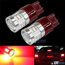 2X 7443/7440 Red Projector 5630 Chip High Power LED Brake Tail Stop Lights Bulbs