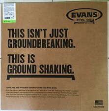 "Evans BD22REMAD DRUM HEAD 22"" Resonant Black Bass Drum Head"