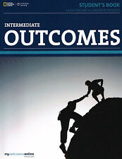 CENGAGE Learning OUTCOMES Intermediate STUDENT'S BOOK with Online Access @New@