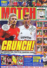MAN UTD / REAL MADRID / KIERON DYER / DAVID JAMES Match Apr 12 2002