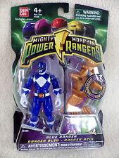Mighty Morphin Power rangers Bandai 2009 figurine neuve s/blister BLUE RANGER