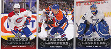 10-11 Upper Deck Taylor Hall Young Guns Rookie Jeunes Lancuers French