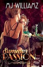 Lesbian Book: SUMMER PASSION by MJ WILLIAMZ, NEW MINT, 2015
