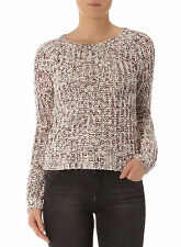 DOROTHY PERKINS PLUS SIZE Berry Space Dye Jumper - 22 UK  - BNWT