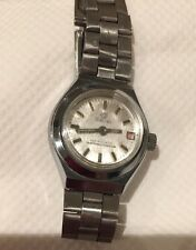 VINTAGE SULINA SWISS WRIST WATCH ANTIMAGNETIC METAL STAINLESS STEEL