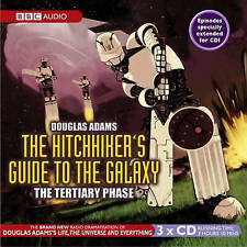 Hitchhiker's Guide to the Galaxy by Douglas Adams Tertiary Phase CD-Audio, 2004)