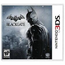 NINTENDO 3DS BATMAN ARKHAM ORIGINS BLACKGATE BRAND NEW FACTORY SEALED