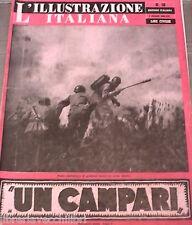 L ILLUSTRAZIONE ITALIANA 2 maggio 1943 Tragedia di Katyn  Pietro Mascagni Navi