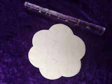 Texture embossing acrylic Rolling Pin No. 51 Heart Bunting for sugar craft