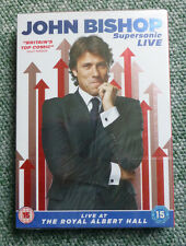 JOHN BISHOP SUPERSONIC LIVE COMEDY DVD - BRAND NEW & SEALED - REGION 2 UK