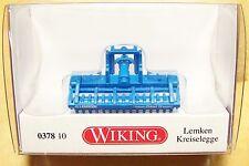 HO scale Wiking Lemken Zirkon POWER HARROW # 37810 :1:87 scale Farm Model