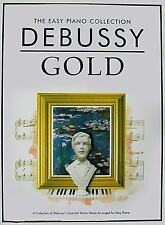 Debussy Gold: The Easy Piano Collection (Easy Piano Collection: Gold), , Good Bo