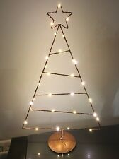 *REDUCED* Habitat Copper 30 LED Christmas Tree on stand 50cm High