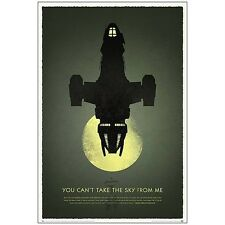 "FIREFLY Serenity 40"" New 10th Anniversary Celebration Art PRINT Poster SHINY LTD"