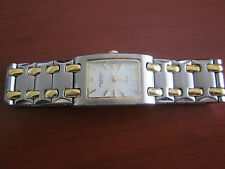 Ladies Jules Jergensen Silver and Gold Watch