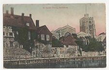 Kent, All Saints Church Maidstone 1906 Postcard, A845
