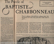 The Puzzle of Baptiste Charbonneau-Sacagewea's Son +Family Abert,Beckwourth,Bent