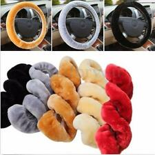 "34cm/13.4"" Warm Plush Steering Wheel Cover Winter Furry Fluffy Soft Plush Car"