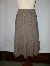 HOBBS  HEAVYWEIGHT TWEED SKIRT SIZE UK 16