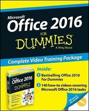 Office 2016 for Dummies® by Wallace Wang (2015, Paperback)