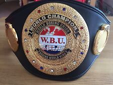 Exact WBU World Champion Boxing Belt Replica -BEST WBU REPLICA- IBF,WBA,WBO,WBC